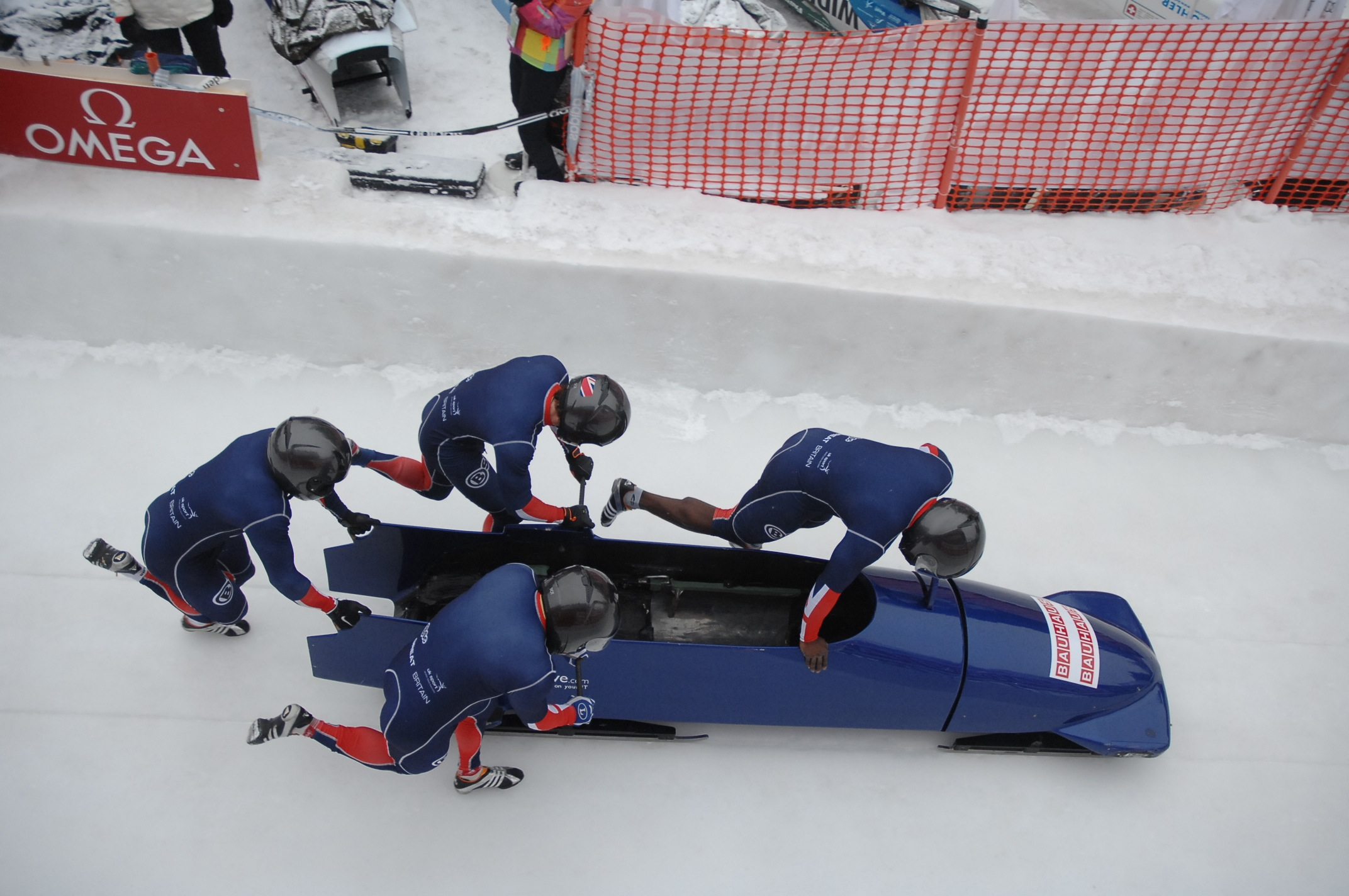 Bobsleigh GB